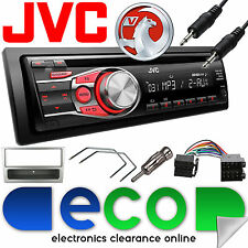 Vauxhall Corsa C 2000-2004 Jvc Auto Radio Stereo UPGRADE KIT CD MP3 AUX argento