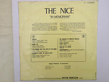 The Nice In Memoriam, Immediate Record French lp 2C 054-91.951