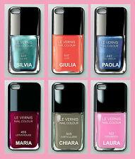 """Cover  """"SMALTO PER UNGHIE"""" con il TUO NOME!!! iPhone 4, 4S, 5, 5S, 5C, 6"""