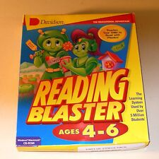 Reading Blaster Ages 4-6 by Davidson & Associates for IBM and Macintosh - NEW