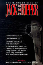 JACK THE RIPPER 'THE MAMMOTH BOOK OF JACK THE RIPPER' PB BUY NOW £3.25 FREE UK P