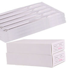 1000Pcs Stainless Steel Tattoo Needles Assorted 50 Size U Choose RL RS F M1 M2