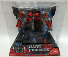 Hasbro Transformers Movie Voyager Limited Edition Battle Damage Optimus Prime