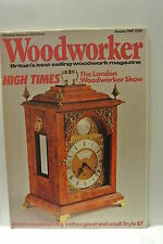 Woodworker Magazine. January, 1987. Volume 91, number 1. Lathes great and small.