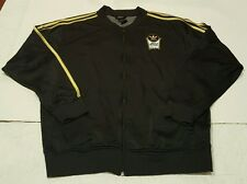 ADIDAS Kareem Abdul Jabbar BASKETBALL WARM UP SHOOTER SKYHOOK TRACK Jacket Sz. M