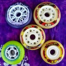 INLINE SKATE WHEELS Speed Skating Mixed Sizes of GYRO and LABEDA