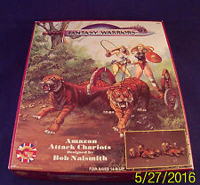 Fantasy Warriors Amazon Attack Chariots 5302 Grenadier 25mm (C11B4)