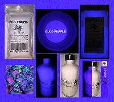 BLUE-PURPLE GLOW IN THE DARK POWDER (NOT-ENCAPSULATED) (0.5 Oz / 14.18 Grams)