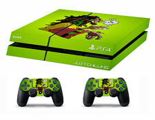 PS4 vinyl Skin Stickers bob marley chilling style for Console & 2 controllers