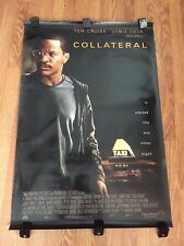 """Original 2004 """"COLLATERAL""""  27""""x 40"""" d/s Theater Light Box Movie Poster Home"""