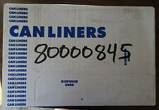 New Trash Can Liners 16 Gallon 24 x 32 - Clear - 500 pc case