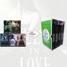 Lauren Kate Fallen Series 5 Books Collection Gift Wrapped Slipcase Set Rapture