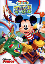 MICKEY MOUSE CLUBHOUSE AROUND THE CLUBHOUSE WORLD New Sealed DVD Disney Junior