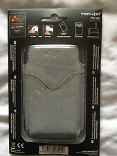 NEW TECH/21 D30 THE SLIP LEATHER APPLE iPHONE 3G & 3GS CASE GREY