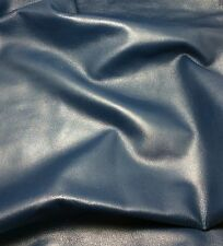 PEARL BLUE Supple Lambskin Leather Hide Piece #1