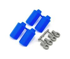 RPM Associated SC10 Shock Shaft Guards (Blue) RPM80575