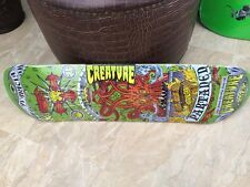 "Creature Skateboard 7 Deadly Sins By Kozk 31.9"" X 8.2"" NEW"