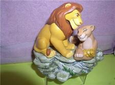 Disney Lion King and Simba Nala Music Box Schmid good condtion