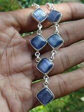 KYANITE & 925 SILVER NECKLACE HANDCRAFTED JEWELLERY SILVERANDSOUL