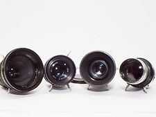 3x LOMO OKC 28 35 50 135 Lens set OCT18 OKS KONVAS Movie Lens set USSR pro cine