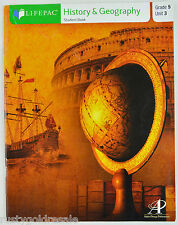 LifePAC Grade 5 History and Geography Student Book Unit 3