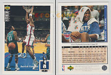 NBA UPPER DECK 1994 COLLECTOR'S CHOICE - Derrick Coleman # 44 Ita/Eng MINT