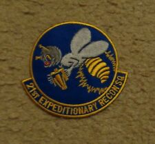 USAF FLIGHT SUIT PATCH, 21ST EXPEDITIONARY RECON SQUADRON