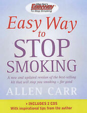 Easy Way to Stop Smoking by Allen Carr (Mixed media product, 2002)