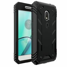 Poetic Revolution Shockproof Premium Rugged Case for Motorola Moto G4 Play Black