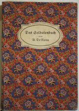 Erich Wilke, Soldatenlieder A. de Nora, Soldatenlieder, illustrierte Bücher