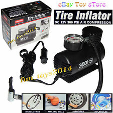 HQ COIDO 300-Psi 12-V Electric Air Compressor Pump For Car Foot-Boll Inflatables