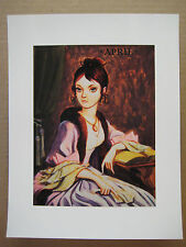 """Disneyland Haunted Mansion Changing Portrait Painting 8.5"""" x 11"""" Poster [ 1 ]"""