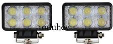 2x LED 24V 12V Proyector Spot 18W Haz Faros Offroad Barco Camioneta Pickup SUV