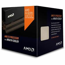AMD FX 8370 8-Core Unlocked BLACK Edition CPU w/ WRAITH COOLER FD8370FRHKHBX