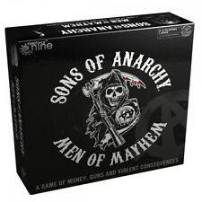 SONS OF ANARCHY: Men of Mayhem - Board Game (Gale Force Nine) #NEW