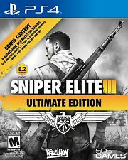 NEW Sniper Elite III 3: Ultimate Edition (Sony PlayStation 4, 2015)