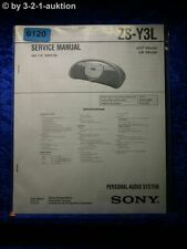 Sony Service Manual ZS Y3L Audio System (#6120)