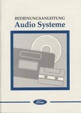 FORD AUDIOSYSTEME Radio CD RDS 1997 Bedienungsanleitung 1000  3000 5000  7000 RN