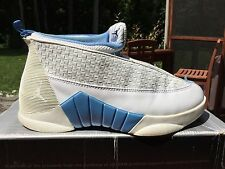 Air Jordan XV 15 Columbia Blue White Size 9.5