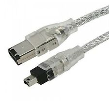 FIREWIRE ILINK 6-4 PIN DV CABLE LEAD FOR SAMSUNG VP-D120 VP D20 VP-D382/H