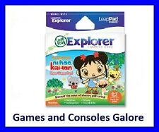 NEW Leap Pad LEAPSTER EXPLORER LEAPPAD NI HAO KAI LAN SUPER HAPPY DAY GAME, GS