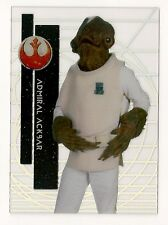 2015 STAR WARS HIGH TEK #16 ADMIRAL ACKBAR REBEL HOTH TACT SCREEN PAT 3 FORM 1