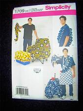 Man Apron Simplicity Pattern 1709 Tailgating Accessories Chair/Cooler/Keg Cover