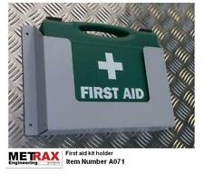 First Aid Kit + Holder - Van garage workshop Building site health & safety 1-10