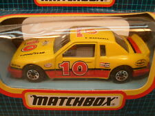 1987 MATCHBOX SUPERFAST MB10 BUICK LE SABRE SHELL STOCK CAR MIB