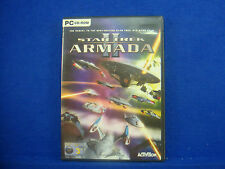 pc STAR TREK Armada II 2 Game Epic 3-D Combat Battles MINT DISC CD ROM