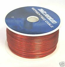 18AWG SPOOL 500FT REMOTE PRIMARY CABLE WIRE 500 FEET 18 AWG GAUGE RED