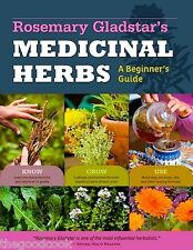 Rosemary Gladstar's Medicinal Herbs A Beginner's Herbal Guide Know Grow Use  New