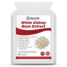 White Kidney Bean Extract - 5000mg - 60 Capsules