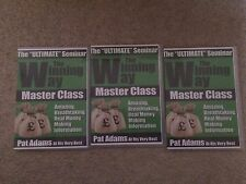 Pat Adams - The Winning Way - Ultimate Seminar - Master Class - 5 DVD Set
